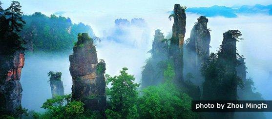 Essence of Zhujiajie Tour from Shanghai