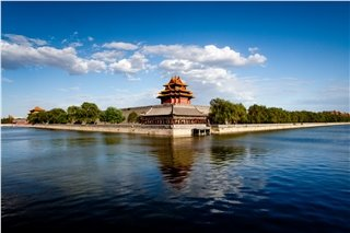 Lake and Forbidden City